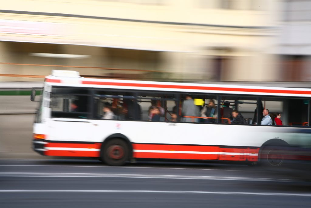 Bus In The City